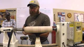 Devon Palmer - Spindle turning class - coves