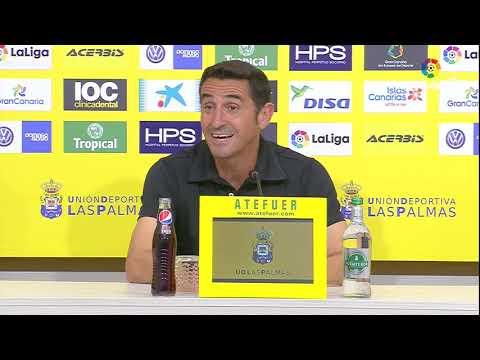 Rueda de prensa de Manolo Jiménez tras el UD Las Palmas vs Málaga CF (1-0)