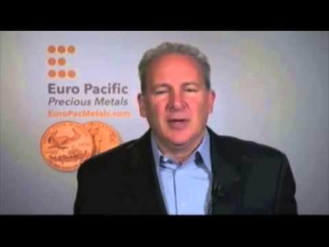 Peter Schiff 2013 Interview  Gold, Silver, Japanese Yen, U S  Dollar Prediction 360p