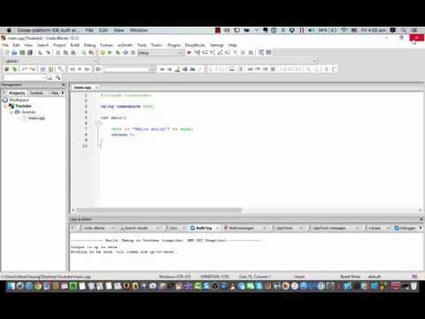 Masa C++ Programming 教學 EP.1 [Installing CodeBlocks] [粵語]