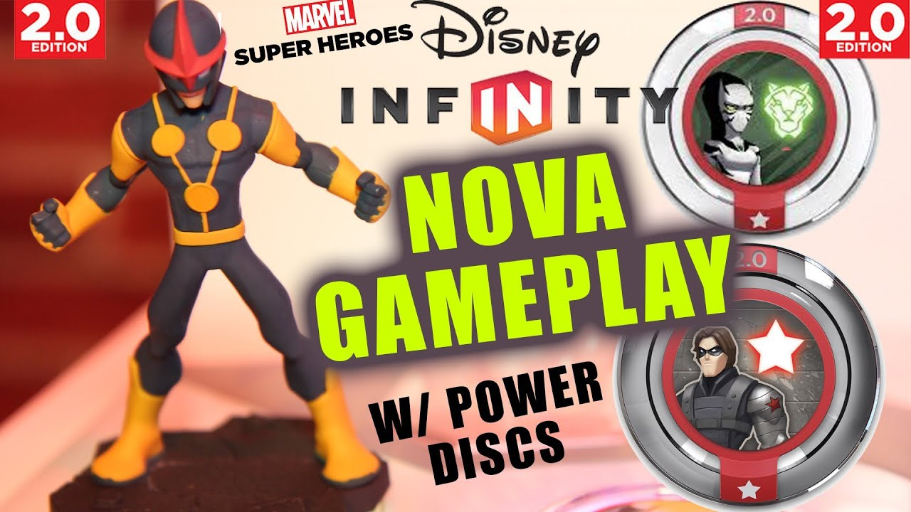 disney infinity 20 nova iron fist gameplay w winter