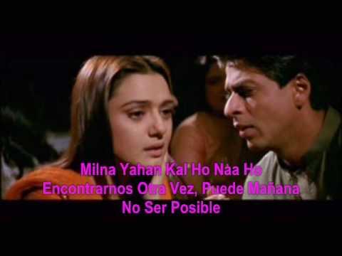♥♥ Kal Ho Naa Ho Sad (Español)♥♥