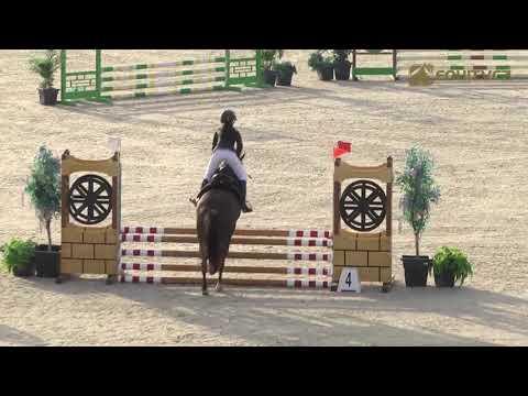 SLOVAKIA CHALLENGE 2020 Šamorín, 2020 10 9 Pony kategória 1. nap 2.  helyezett