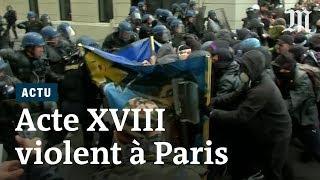 Acte XVIII des « gilets jaunes »: affrontements et incendies sur les Champs-Élysées à Paris
