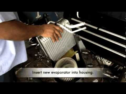 how to clean evaporator au ford