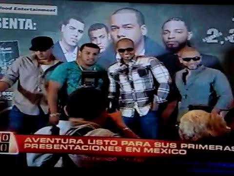 Entrevista de Aventura en Al Rojo Vivo