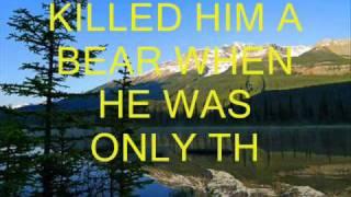 Watch Burl Ives Ballad Of Davy Crockett video