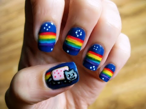 Nyan Cat Nails Music Videos