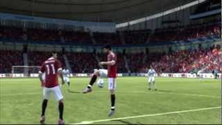 FIFA 12 :  ibrahimovic fights alexandre pato on pitch