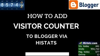 download lagu How To Add Visitor Counter To Blogger Via Histats gratis