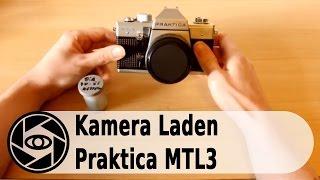 Praktica MTL3 Analog Kamera: Laden und Entladen