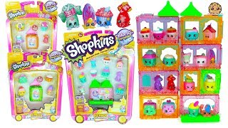 Shopkins Season 8 Asia World Vacation Surprise Blind Bags + Packs - Cookie Swirl C Video