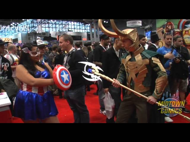 Cosplayers at New York Comic Con 2012