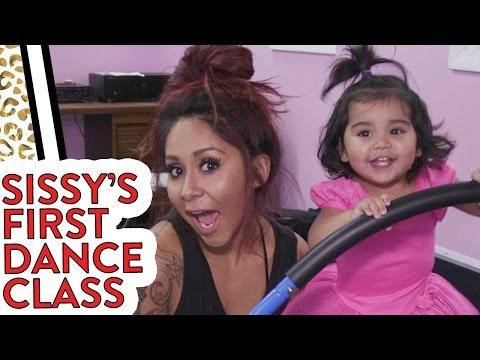 Sissy's First Dance Class!