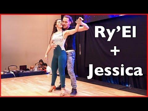 Fantastic LambaZouk Dance by Ry'El & Jessica Lamdon at the DC Zouk Festival 2018