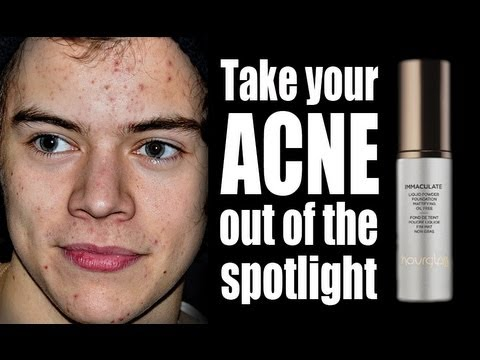 A FOUNDATION THAT CAN HEAL ACNE...?