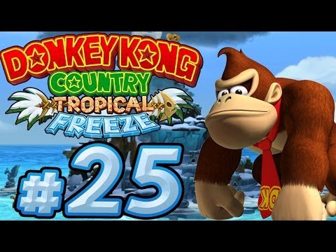 Let's Play Donkey Kong Country Tropical Freeze - Part 25 - Vereiste Donkey Kong-Insel