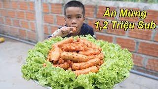 Trẻ Trâu Làm Mâm Xúc Xích Khổng Lồ Siêu Cay Đầy Đủ Hình Dạng | TQ97