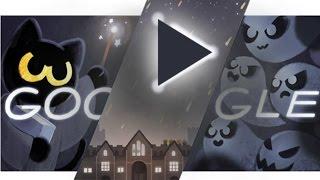 Google Doodle Halloween Game 2016 - Happy Halloween