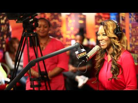 Kenya Moore Visit Rickey Smiley