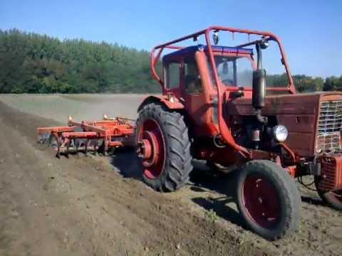 Belarus MTZ-50/80 & Knoche TE-3,2