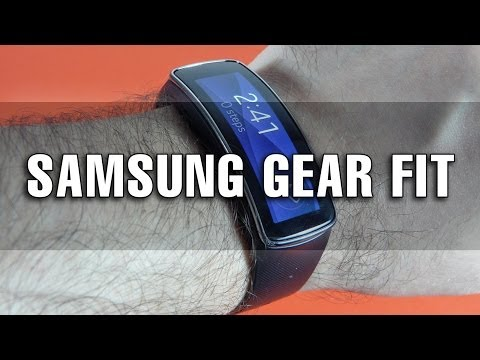 Samsung Gear Fit Review (Tracker fitness conectat la Galaxy S5) - Mobilissimo.ro
