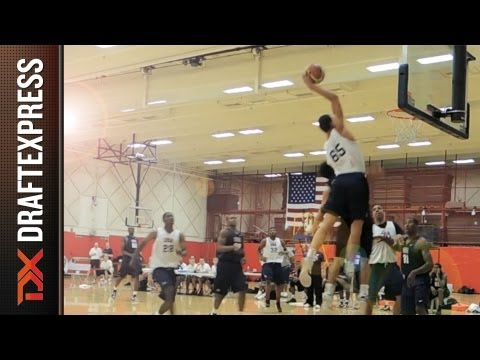 Aaron Gordon Dunk at USA Basketball U19 World Championship Training Camp