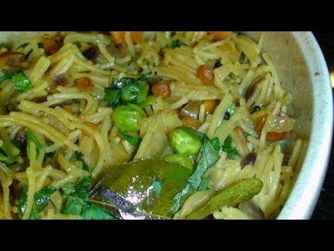 Sevia Upma - Indian Recipe