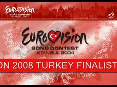 EUROVISION 2008 TURKEY FINALIST - FARUK K - ONE NIGHT PARTY