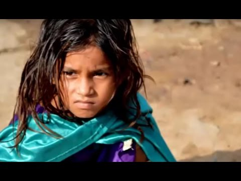 Slums Poverty Poor Kids in India - HD 2013