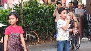 Pasangan duet Memori Berkasih paling Mengancam... Putera Nazhan feat Dyna