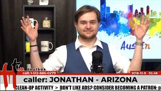 On Religious Morality | Jonathan - Arizona | Talk Heathen 02.49