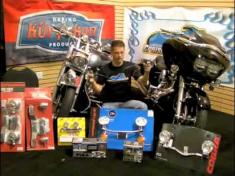 Motorcycle Lightbar Driving Lights - Do it Yourself - Video Guide: Tip o