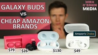 Galaxy Buds Vs Cheap Amazon Best Sellers ($49)