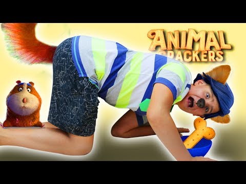 Animal crackers video for kids, magical story for children's fun