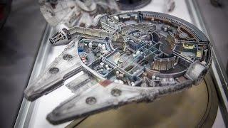 Cutaway Millennium Falcon Model Miniature!