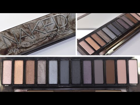 FIRST LOOK! Urban Decay Naked Smoky Palette- All you Need to Know