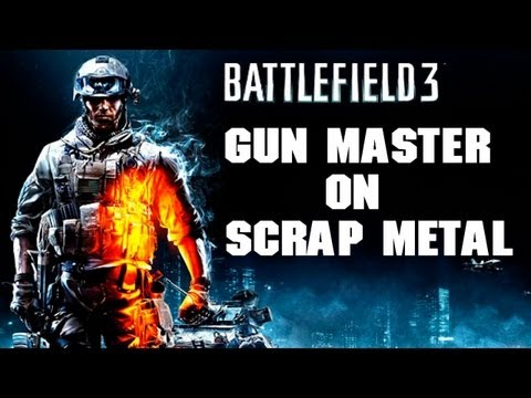 BF3 Close Quarters Gun Master on Scrap Metal | Dual Comm with DCRUColin!