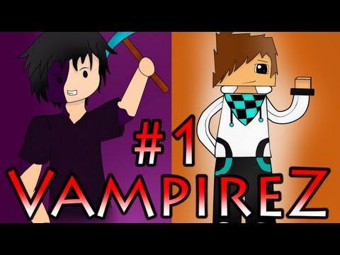 Minecraft VampireZ: #1 (Прячемся или нападаем?!)