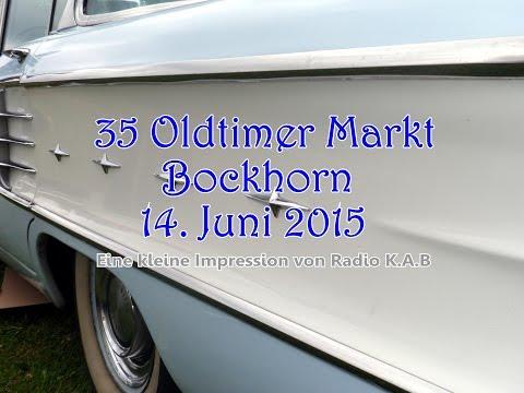 35 Years Oldtimer Market Bockhorn (Germany) Juny 14, 2015