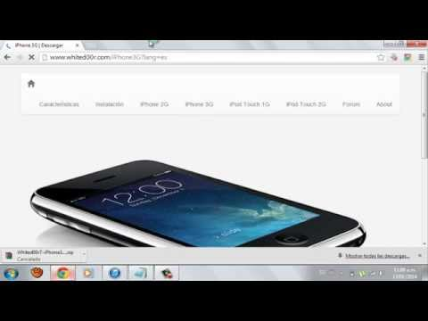 Como instalar IOS7 de Whited00r en IPhone 2G. 3G IPod Touch 1G Y 2G