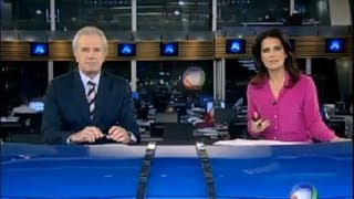 Veja as notícias desta quarta (8) na íntegra do Jornal da Record