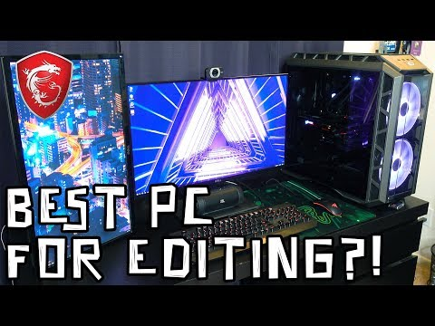 MSI 4K Editing PC - Review!