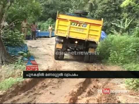 Exposed: illegal sand mining in Palakkad