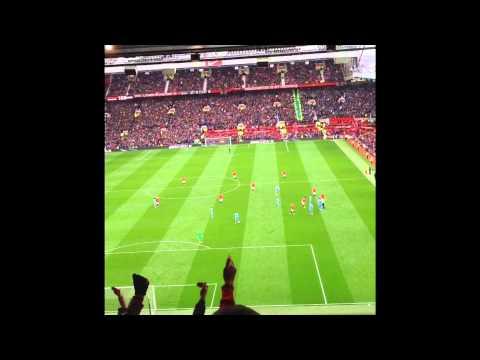 Stretford End - Manchester United vs Manchester City - 4-2 - 12.04.15