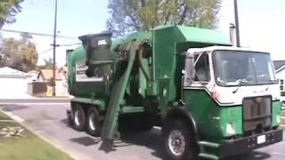 Calmet services trash truck #131 Autocar Xpeditor part 4