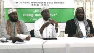 SU'AALO IYO JAWAABO Sheekh Umal, Sh. C. Qorane iyo Yusuf Ahmed