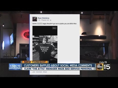 Valley restaurant takes customer complaint to whole new level