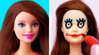 LOCAS IDEAS DE BARBIE QUE DEBES INTENTAR || TRUCOS CON JUGUETE DIVERTIDOS
