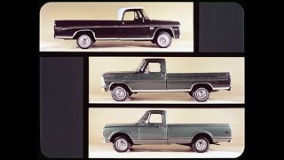 1970 Dodge D100 Pickup Truck vs Ford F100 and Chevrolet C10 Dealer Promo Film